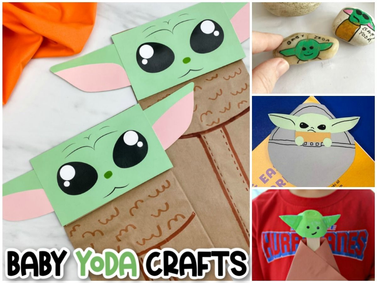 17 Easy Grogu Baby Yoda Crafts For Kids