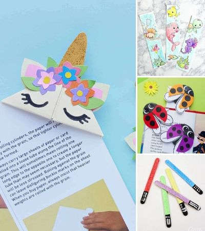 bookmark for kids image collage