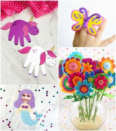 little girl crafts