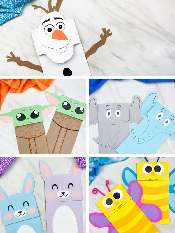 Brown Paper Bag Puppets
