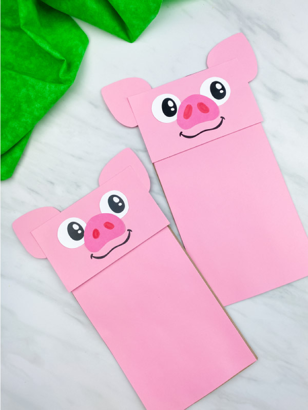 simple pig craft for preschool