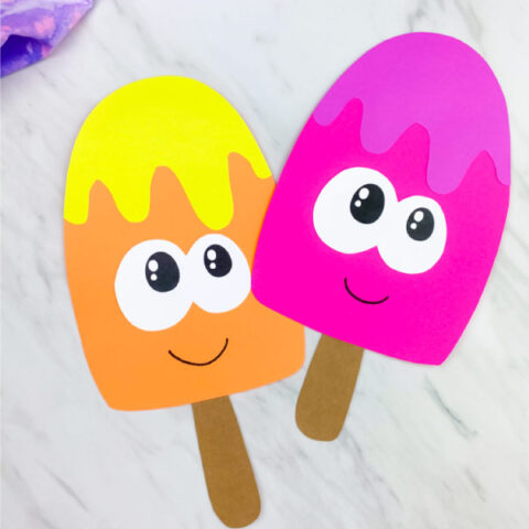 ice cream craft for preschoolers