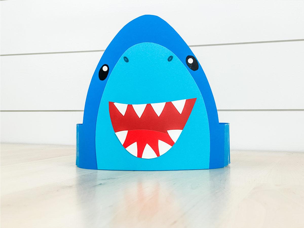 Shark Headband Craft [With Template]