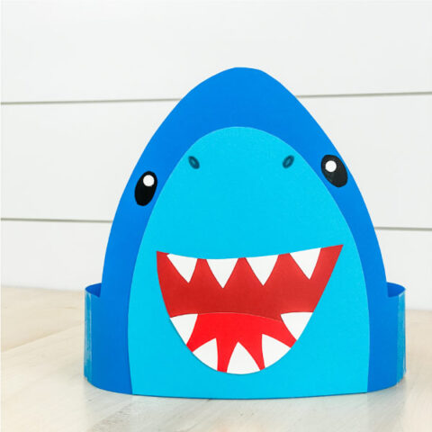 Shark Headband Craft