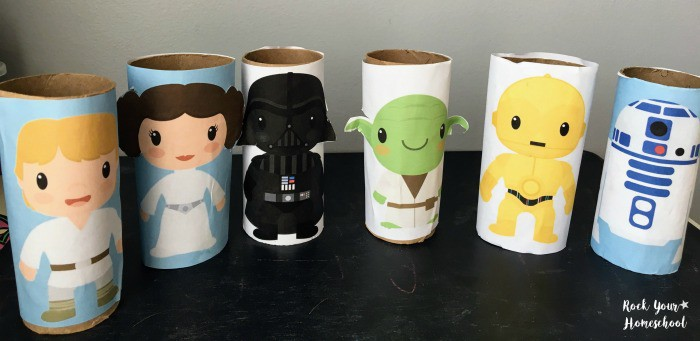 Star Wars Toilet Paper Rolls