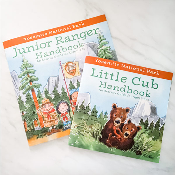 Junior ranger and little cub handbooks