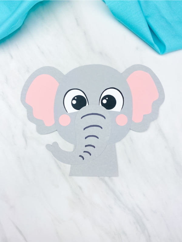 elephant craft preschool