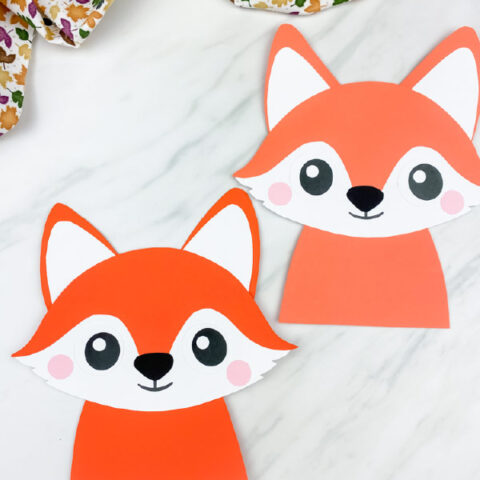 Easy Fox Craft For Kids