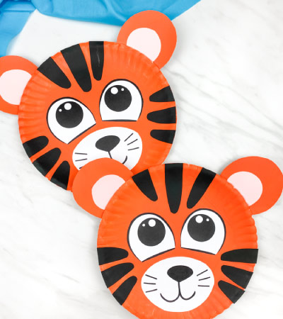 paper plate tigers (2)