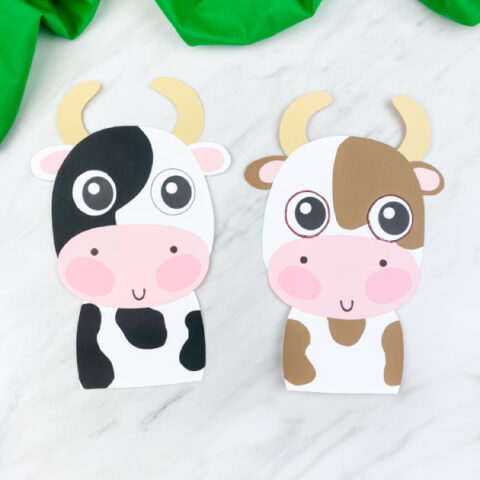Easy Cow Craft