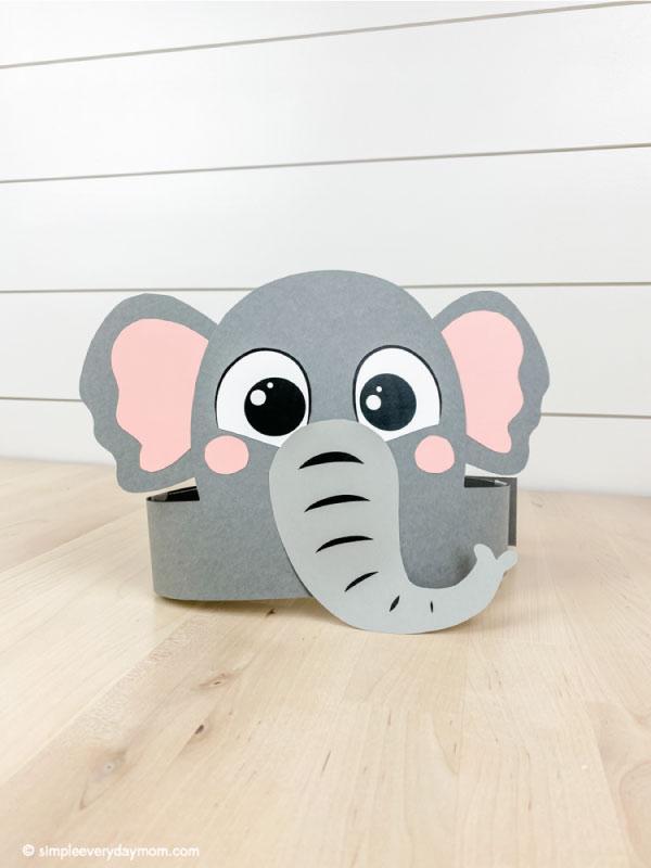 Elephant headband craft