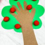 Handprint Apple Tree Craft