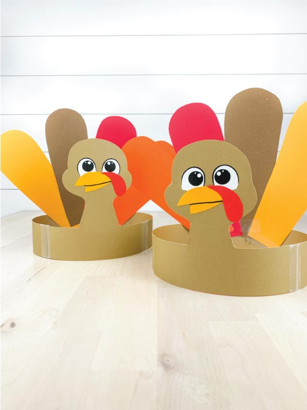 two headband turkey crafts