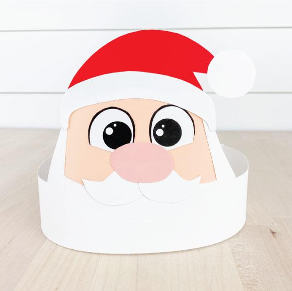Santa headband craft