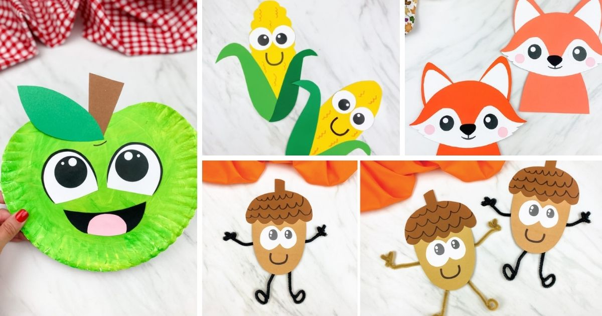 16 Easy Fall Crafts For Preschoolers