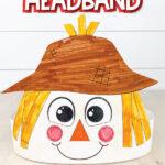 closeup of scarecrow color in headband