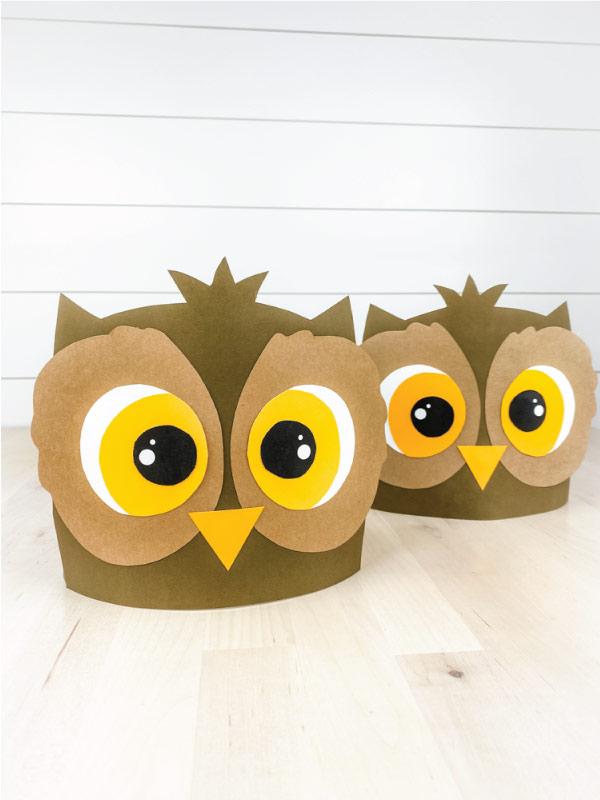 two owl headband crafts