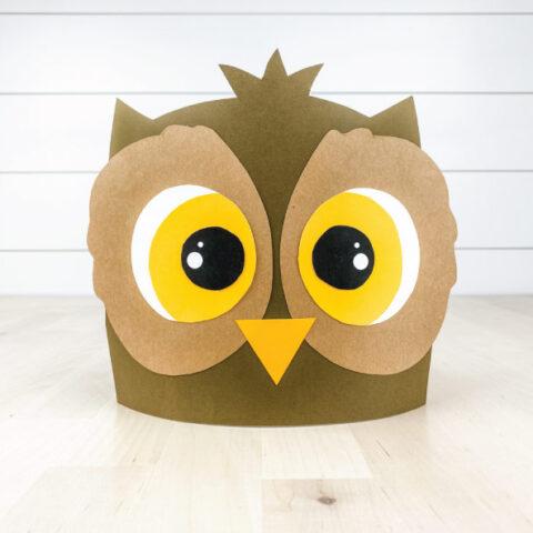 owl headband craft