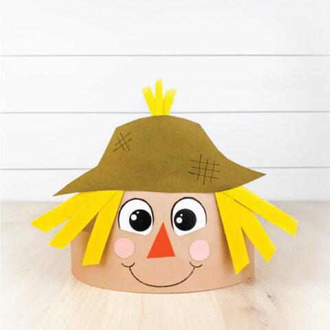 scarecrow headband craft
