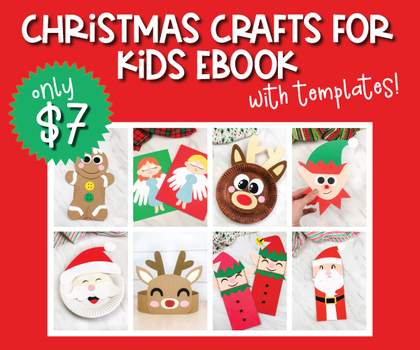 christmas craft ebook image collage