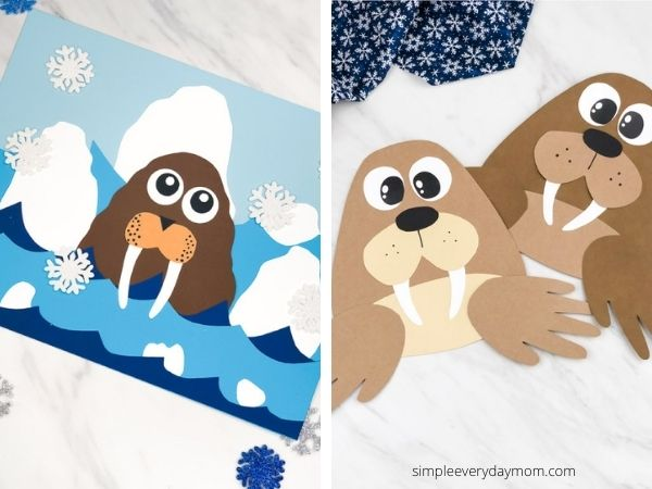 walrus craft images