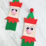 2 elf popsicle stick crafts