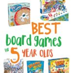 Best Board Games For 5 Year Olds