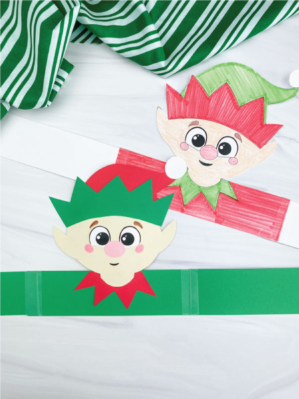 two headband elf crafts