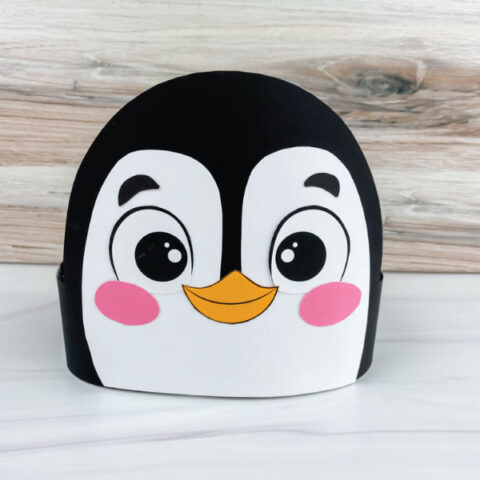 penguin headband craft