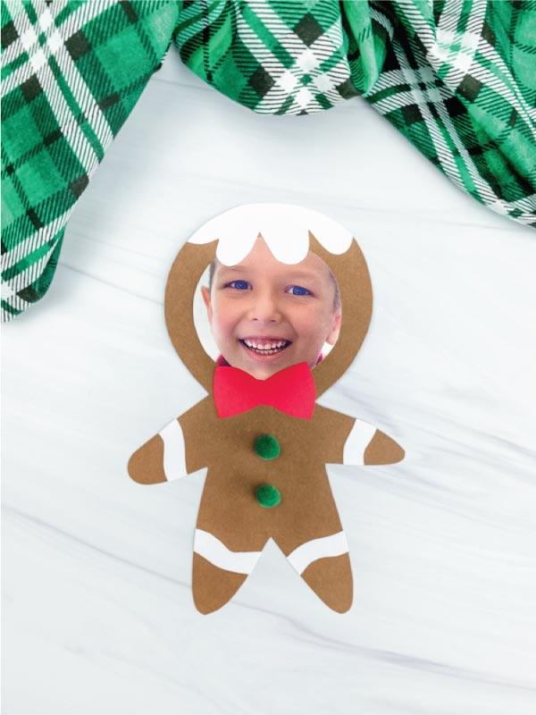 gingerbread photo craft