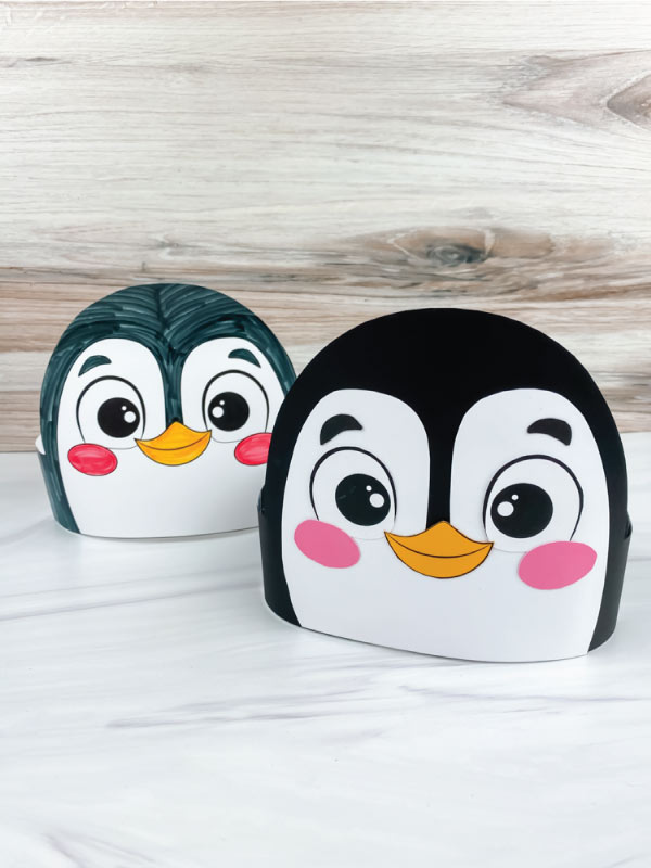 two penguin headband crafts