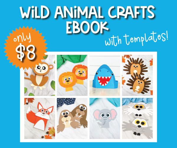 wild animal crafts ebook