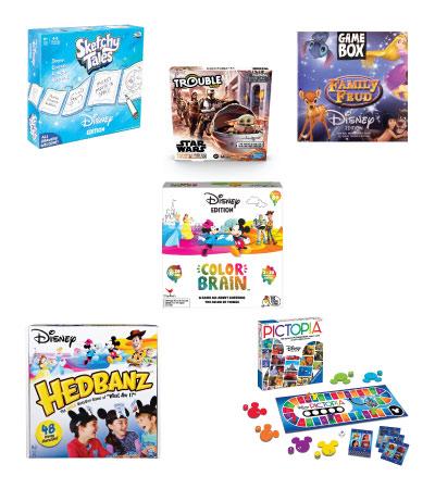 disney board games collage