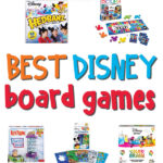 disney board games collage