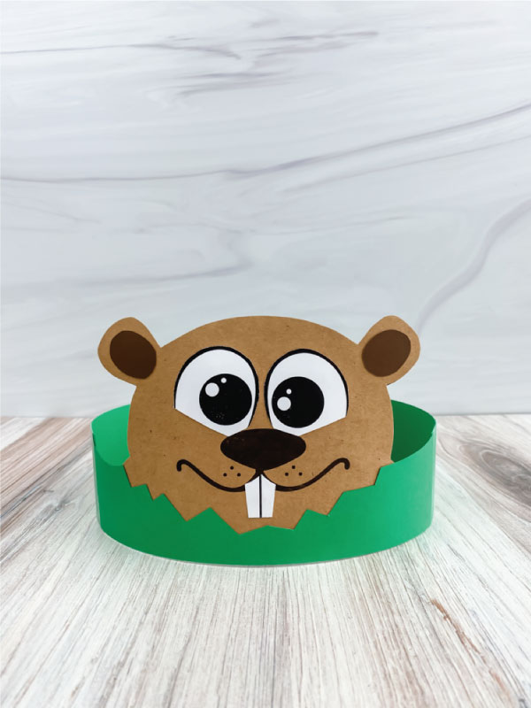 groundhog headband craft
