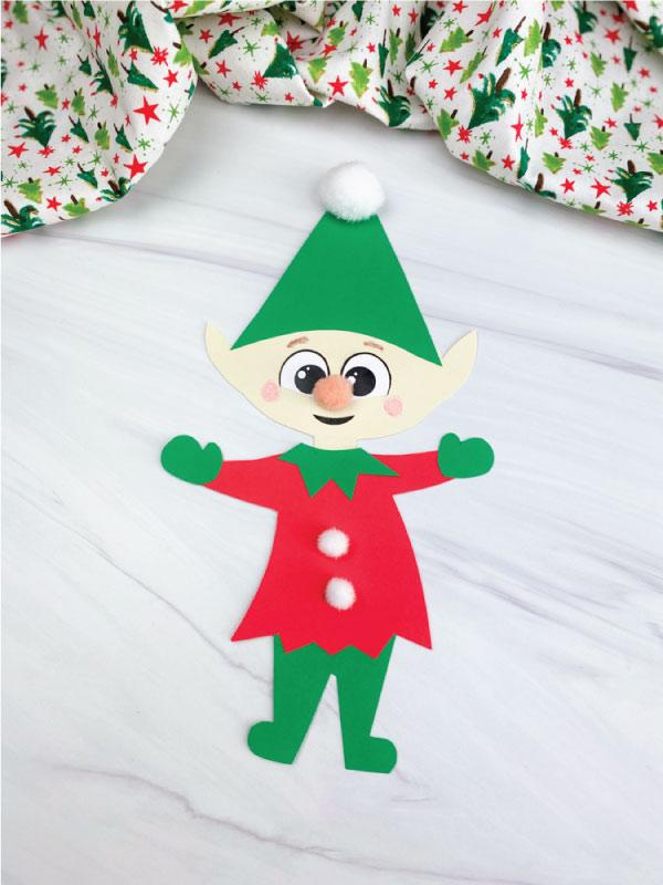 paper elf craft