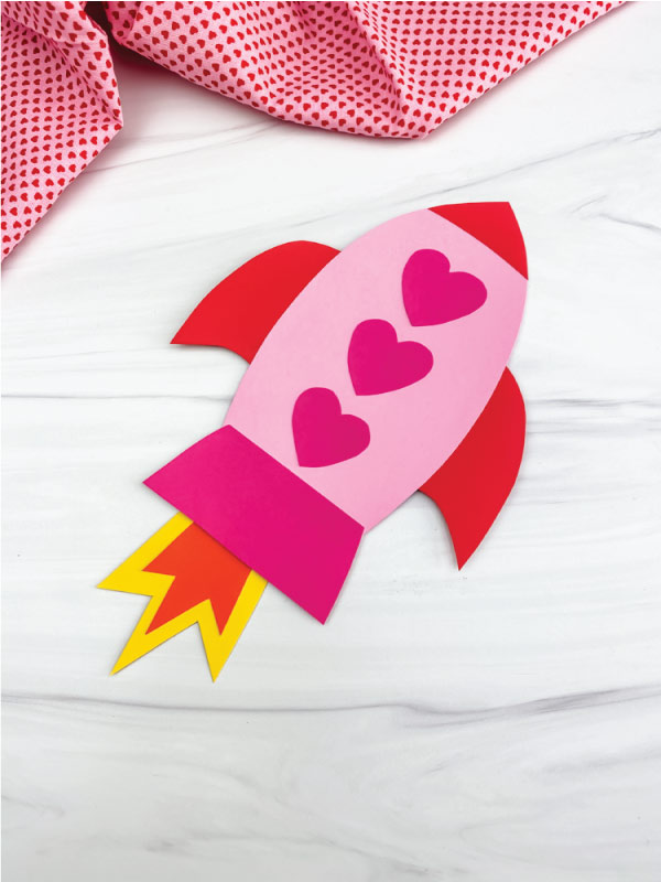 rocket valentine craft