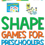 shape games for preschoolers collage image