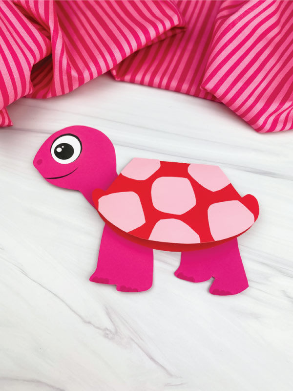 turtle valentine card craft
