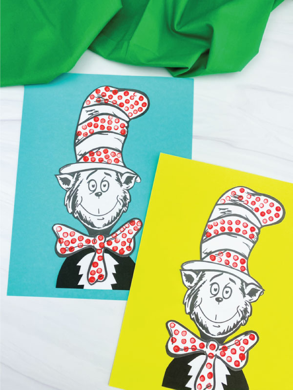 two cat in the hat crafts