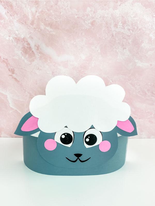 black sheep headband craft