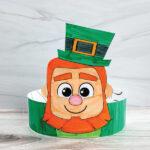 leprechaun headband craft