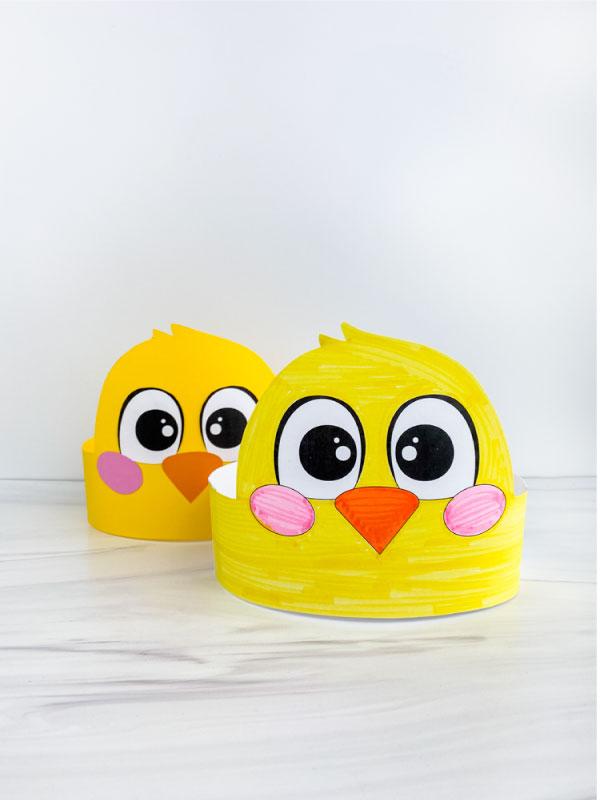 two chick headband crafts