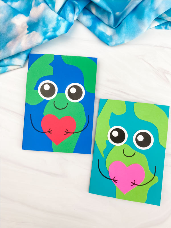 2 Earth Day card crafts