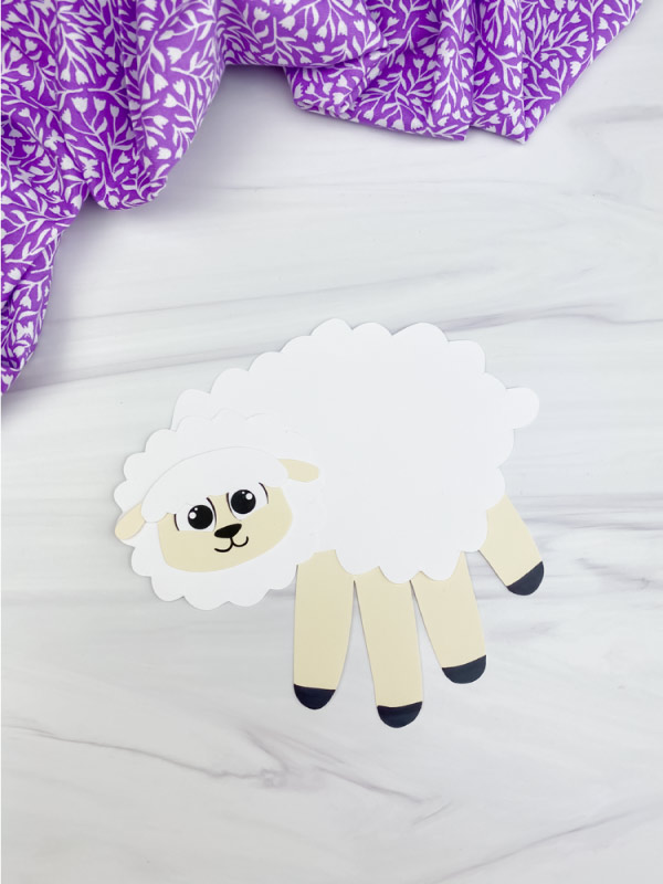 handprint sheep craft