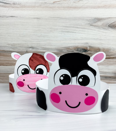 two cow headband crafts