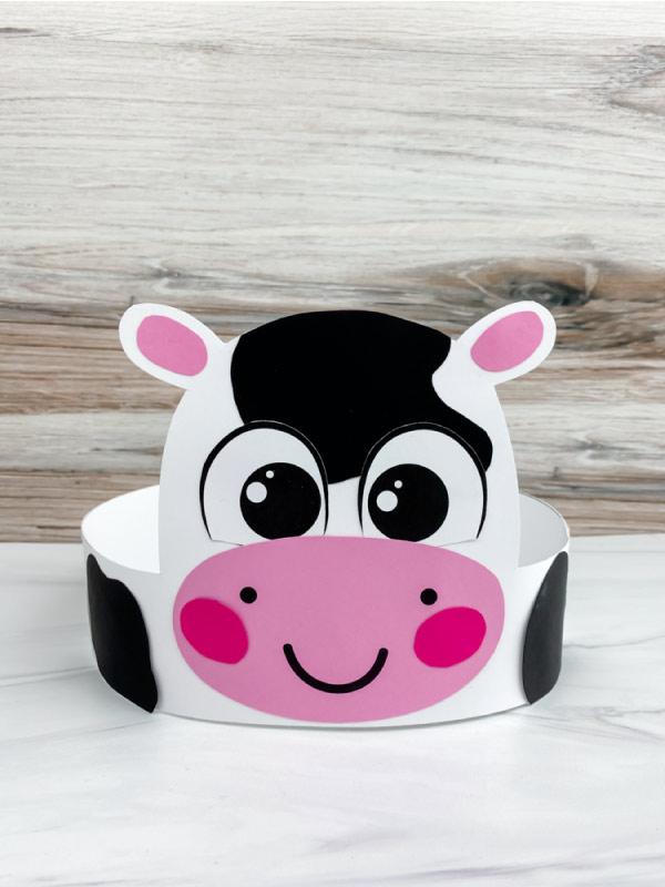 cow headband craft