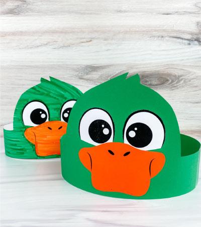 2 duck headband craft