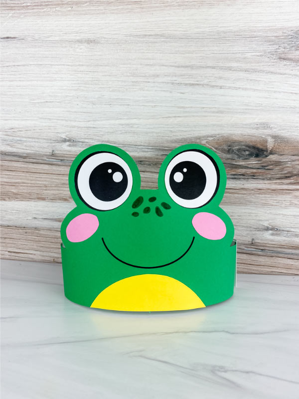 frog headband craft