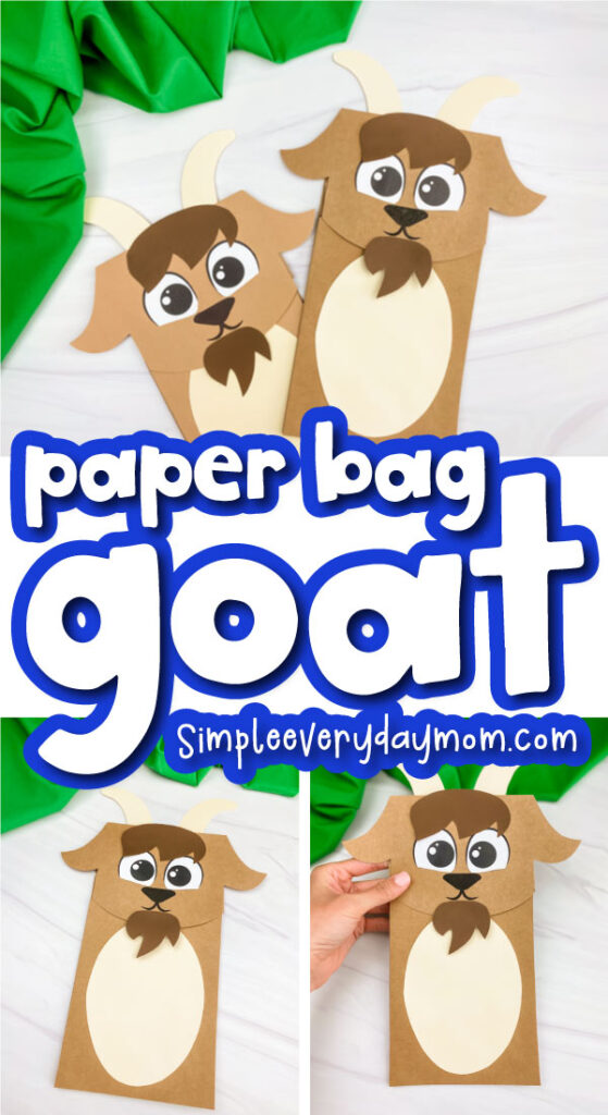 paper bag goat image with the words paper bag goat in the middle